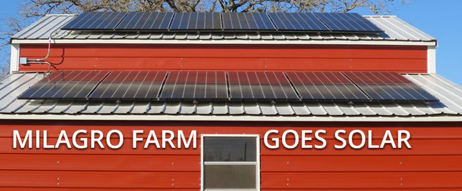 solar powered farm