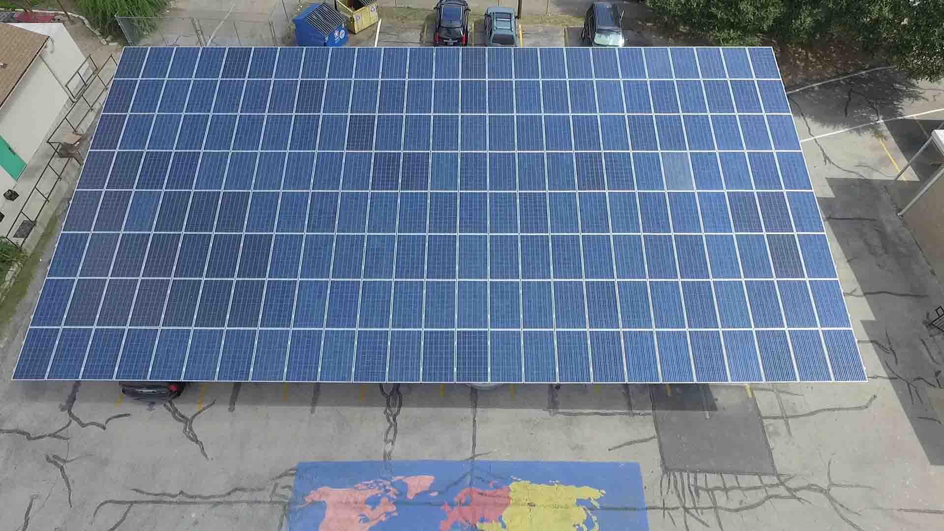 Cedars-International-Academy-Rooftop-Solar-Installation
