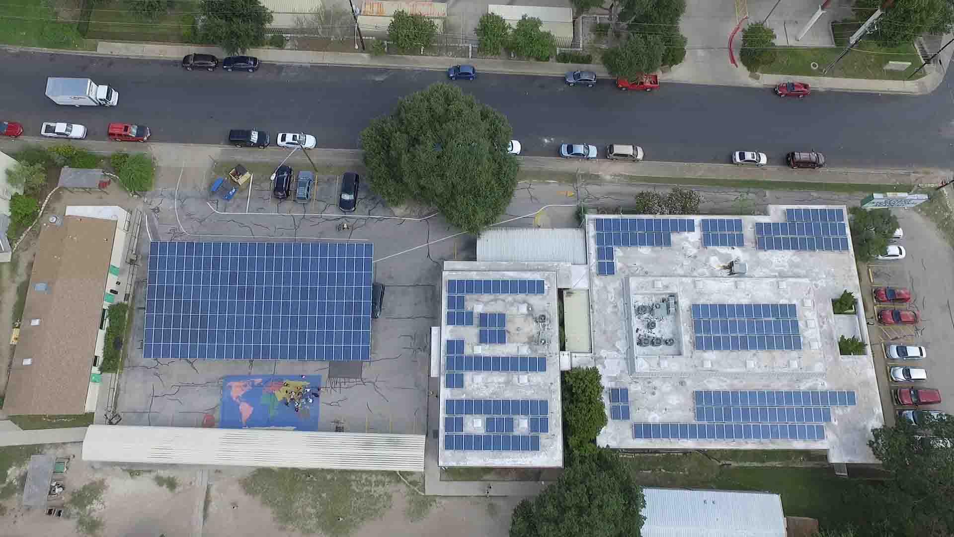 Cedars-International-Academy-Solar-PV-Installation
