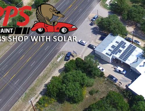 Epps Body & Paint: A Solar Powered Auto Shop