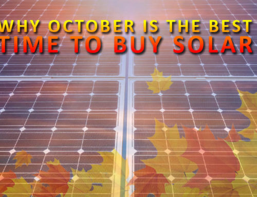 Why October is the Best Time to Buy Solar