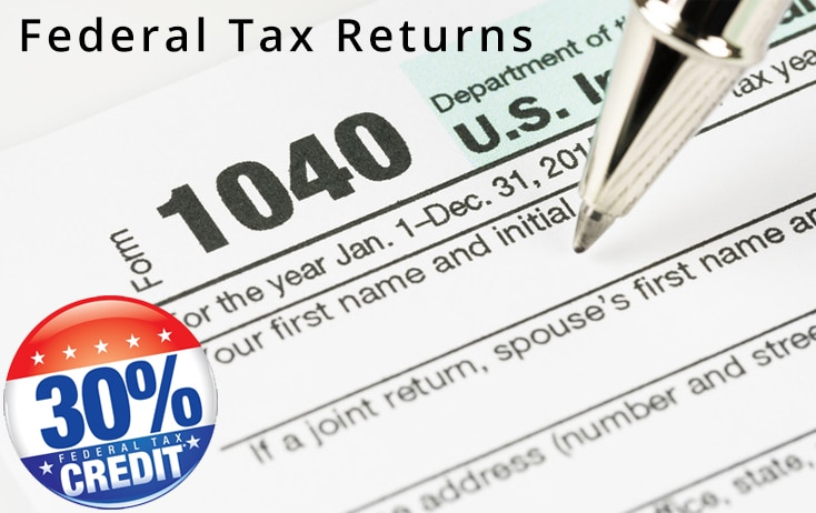 Federal Tax Returns 30 Investment Credit Itc