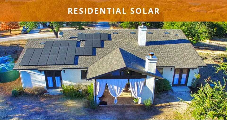 solar services for homes