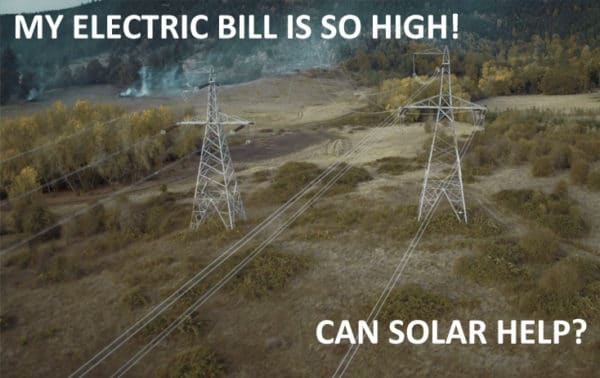 My Electric Bill Is So High
