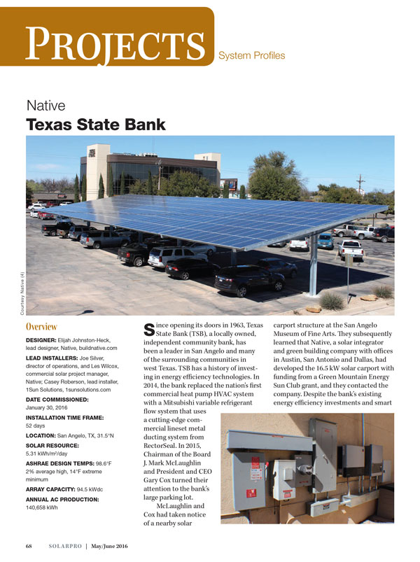 SolarPro Magazine Feature