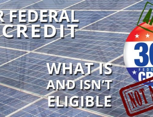 Solar Federal Tax Credit: What Is and Isn't Eligible