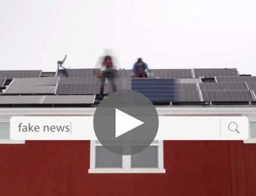 Solar FAKE NEWS!