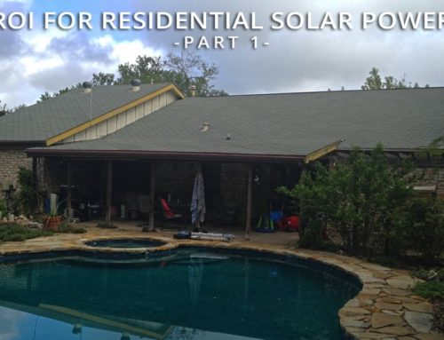 ROI for Residential Solar Power (Part 1)