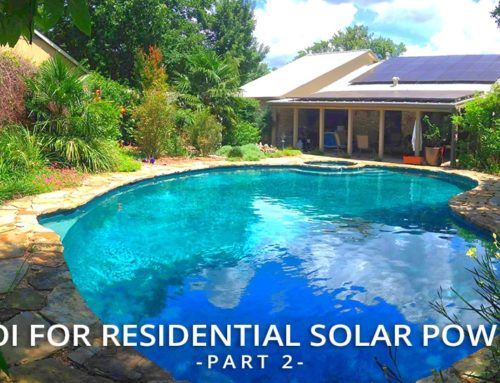ROI for Residential Solar Power (Part 2)