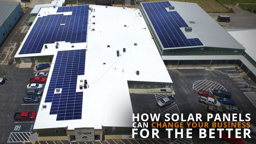 Solar Panels Can Change Your Business