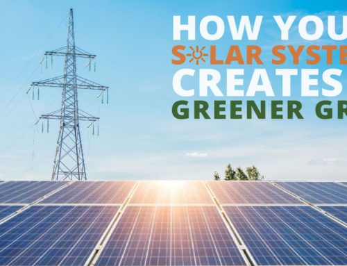 How Your Solar System Creates A Greener Grid