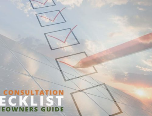 Solar Consultation Checklist – A Homeowners Guide