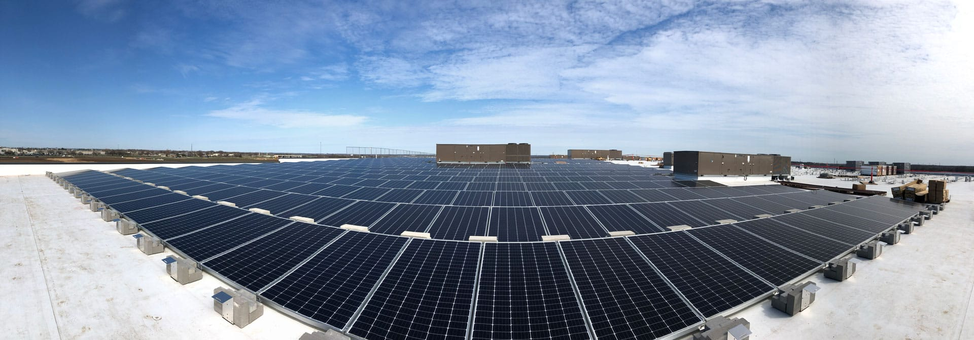 capsum largest commercial solar installation