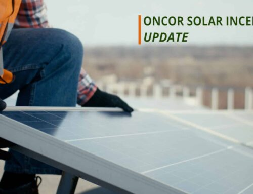 Update on Oncor Solar Incentives