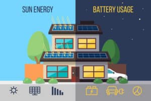 Solar-plus-battery-home