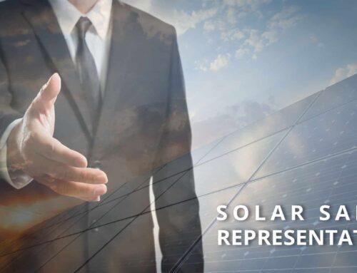 Solar Sales Representative