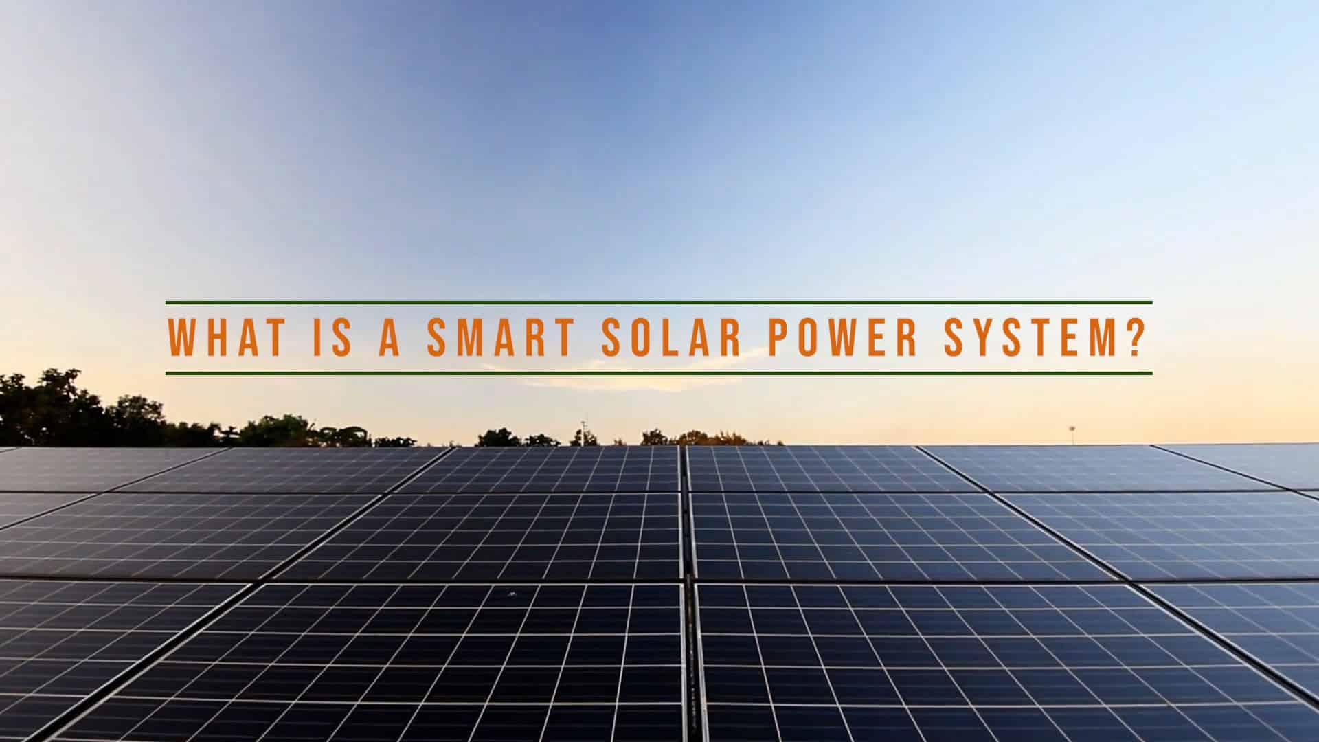Smart-Solar-Power-System