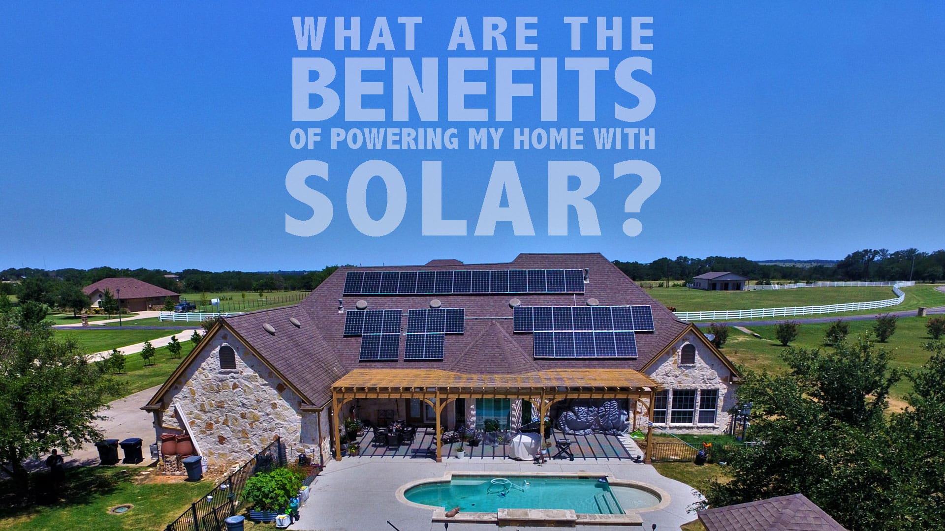 powering home with solar